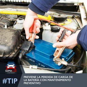 mantenimiento batería de autos