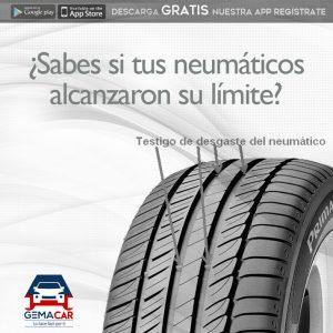 indicador de desgaste del neumático