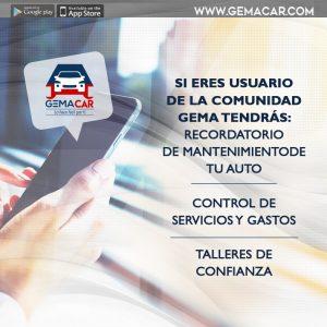 aplicación mantenimiento vehículos