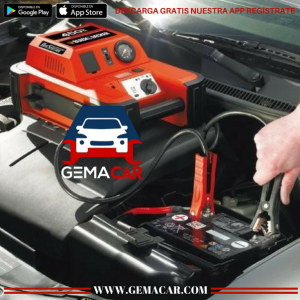 bateria para carro, carga de bateria, mantenimiento de bateria