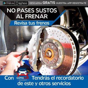 Mantenimiento Automotriz, Frenos de autos, servicio de frenos