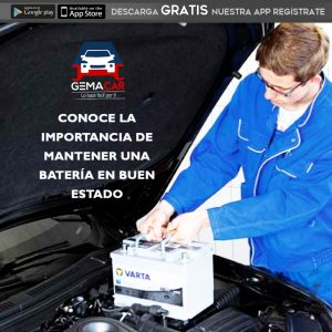 mantenimiento de batería para auto